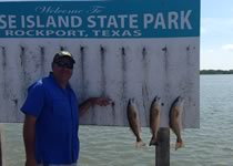 Limit of Redfish with Fishing Guide Jody Starr