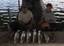 Two Limits of Redfish caught around Rockport Texas