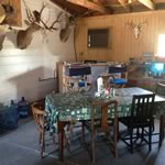 Dining Foom area of the Hunting Lodge